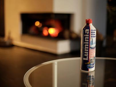 Cómo limpiar el vidrio de una chimenea o estufa