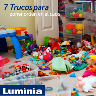 7 Trucos para limpiar el cuarto de los peques