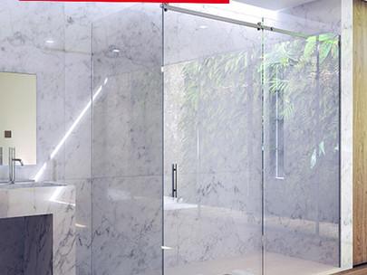 Mamparas de baño, ¿cómo limpiarlas?