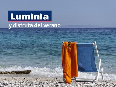 Con Luminia, disfruta del verano