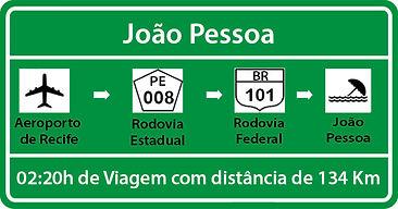 Transfer de Recife para João Pessoa