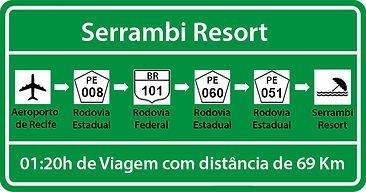 Transfer de Recife para Serrambi Resort