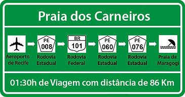 Transfer de Recife para Praia dos Carneiros