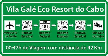 Transfer de Recife para Vila Galé Eco Resort