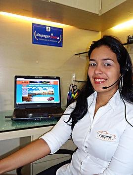 Atendente - Aluguel de Vans no Aeroporto de Recife