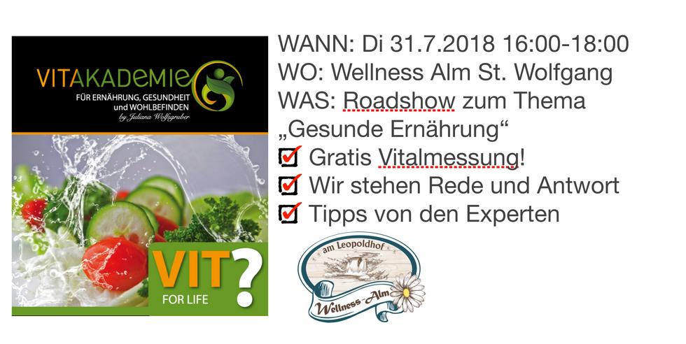 Herzlichen Dank an die Wellness Alm St. Wolfgang