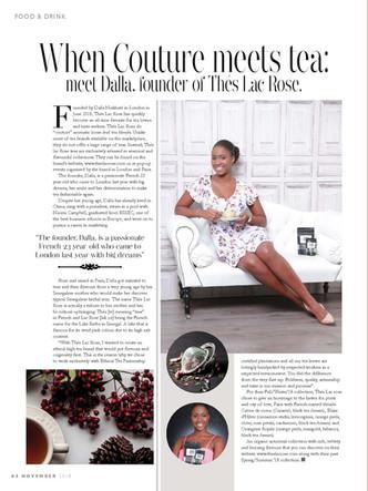 Chelsea Life Magazine, Nov.2018
