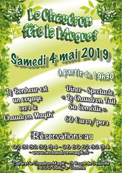 Affiche_Le_Chaudron_Fête_le_Muguet