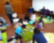 Talleres y Sanación Pránica para niños y jóvenes.