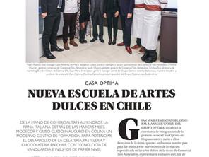 Entrevista lanzamiento Casa Optima CHILE