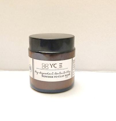 """""""Bentonite Clay"""" Powder To Clay Mask"""