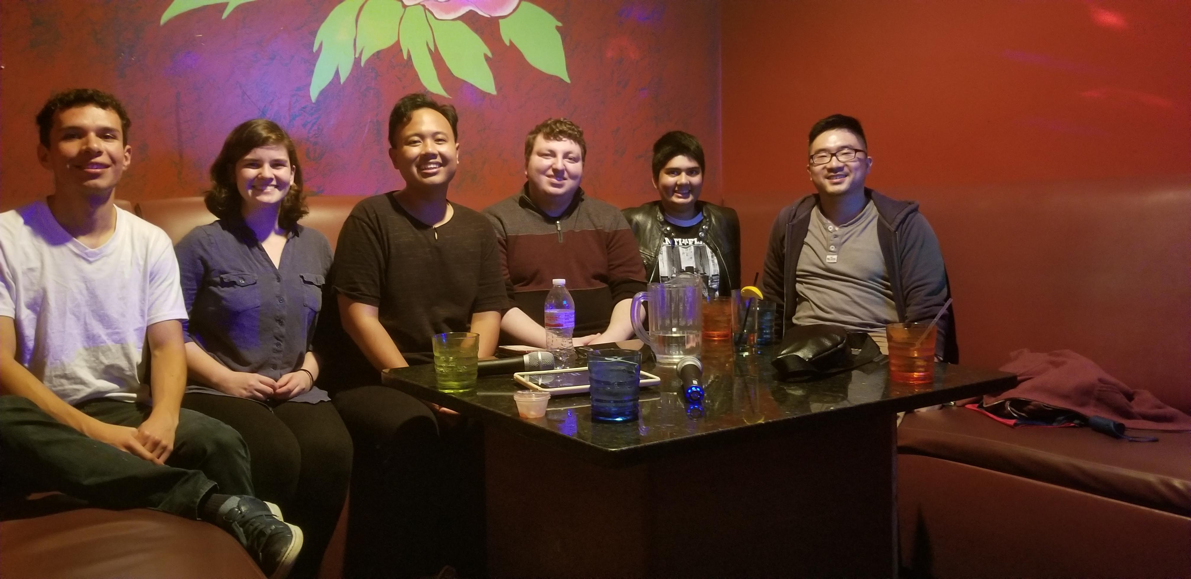 Karaoke Night at Karaoke Bar