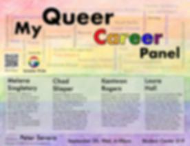 My Queer Career Panel
