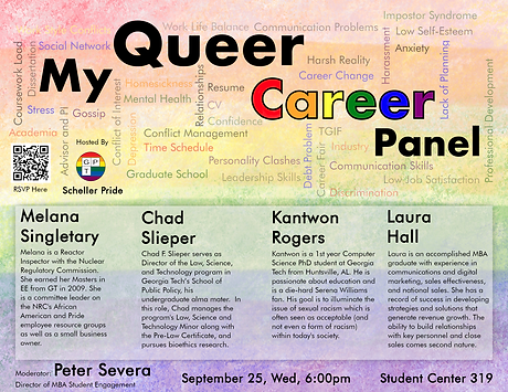 My Queer Career Panel