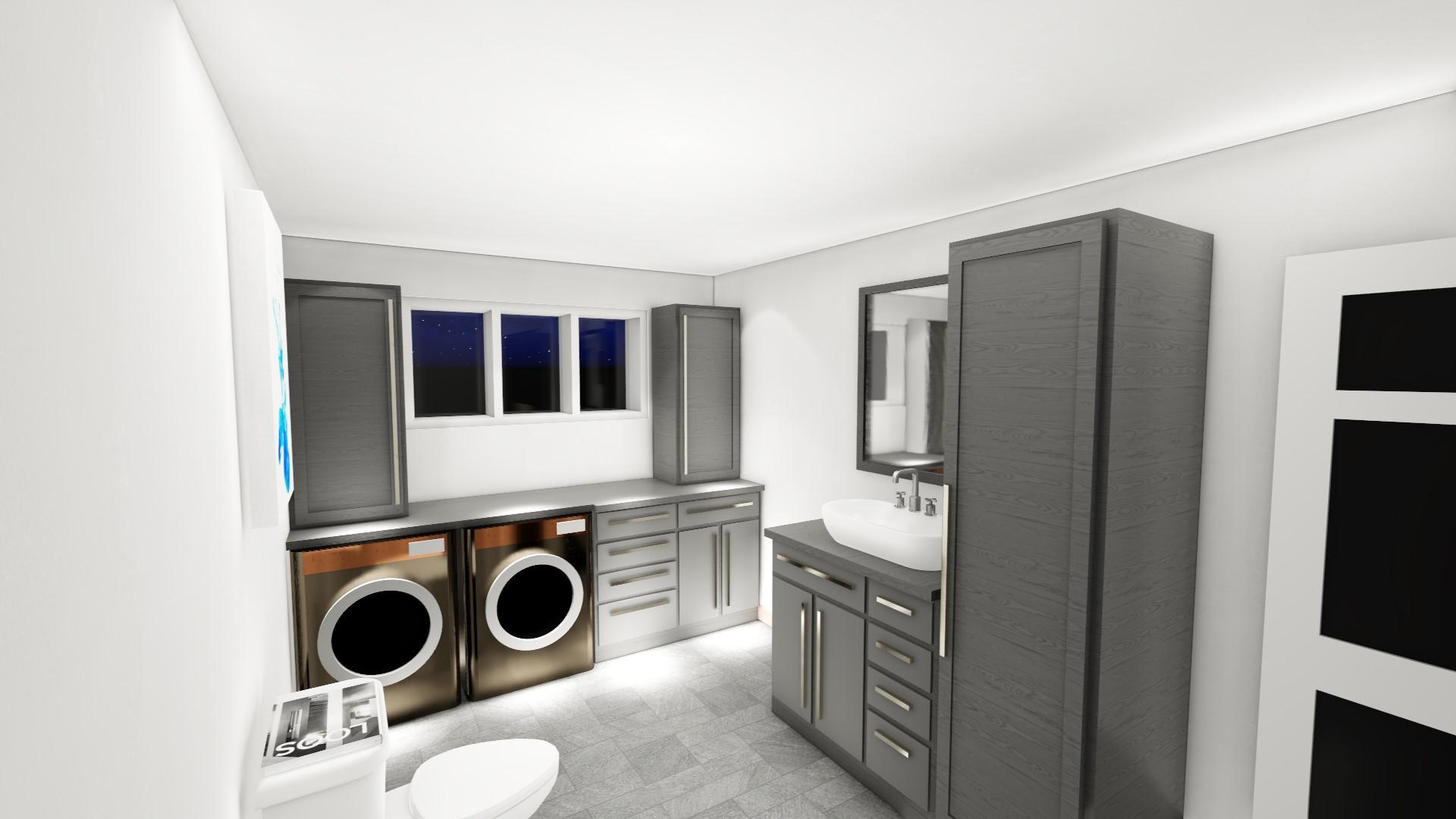 Projet - 0049 - Salle de bain SS