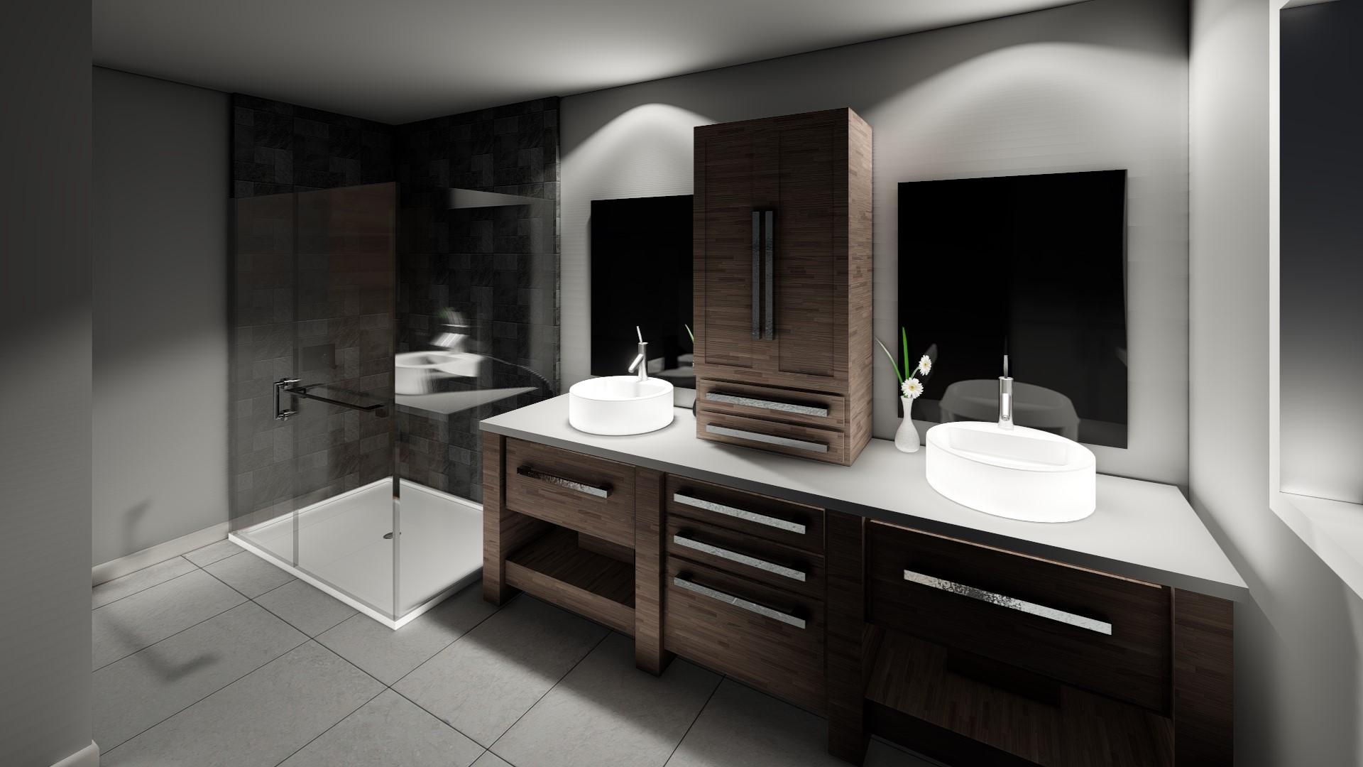 Projet - 0049 - Salle de bain RDC