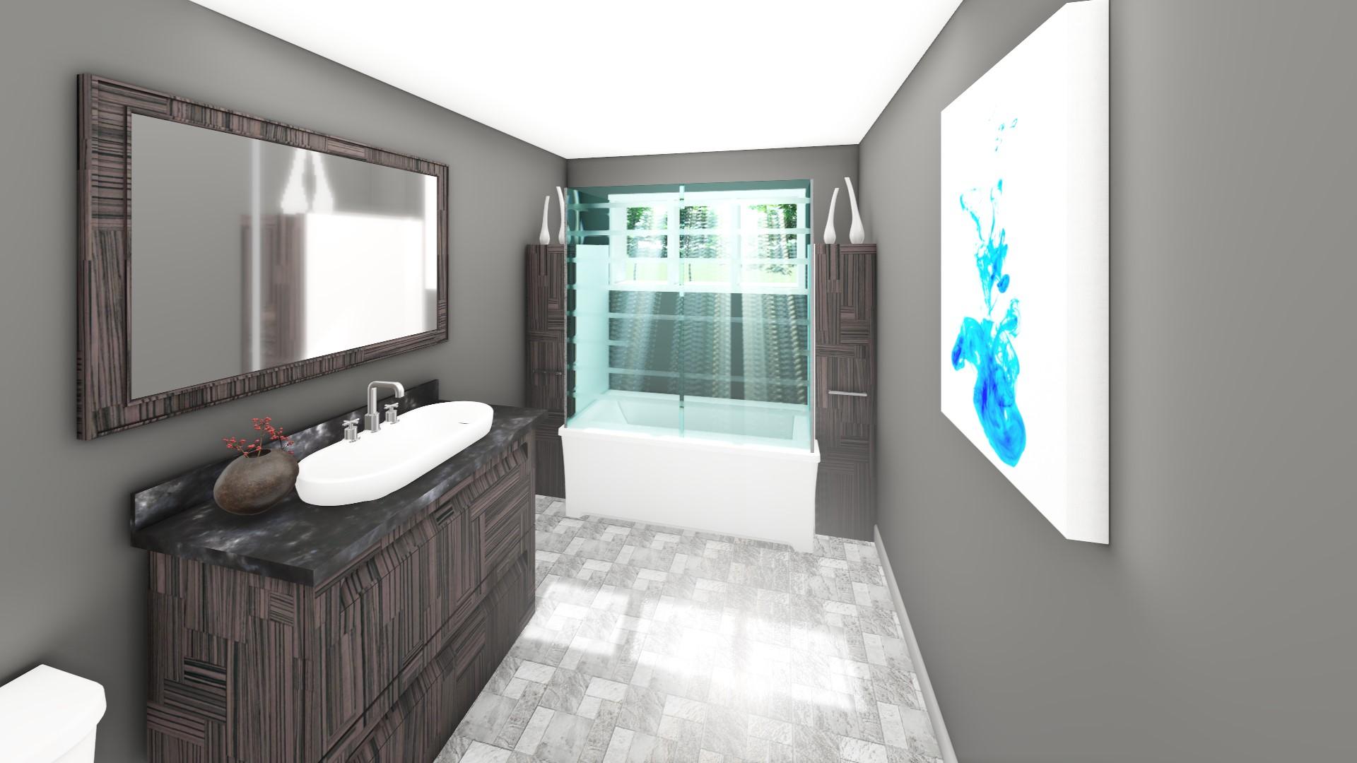 Projet - 0050 - Salle de bain SS