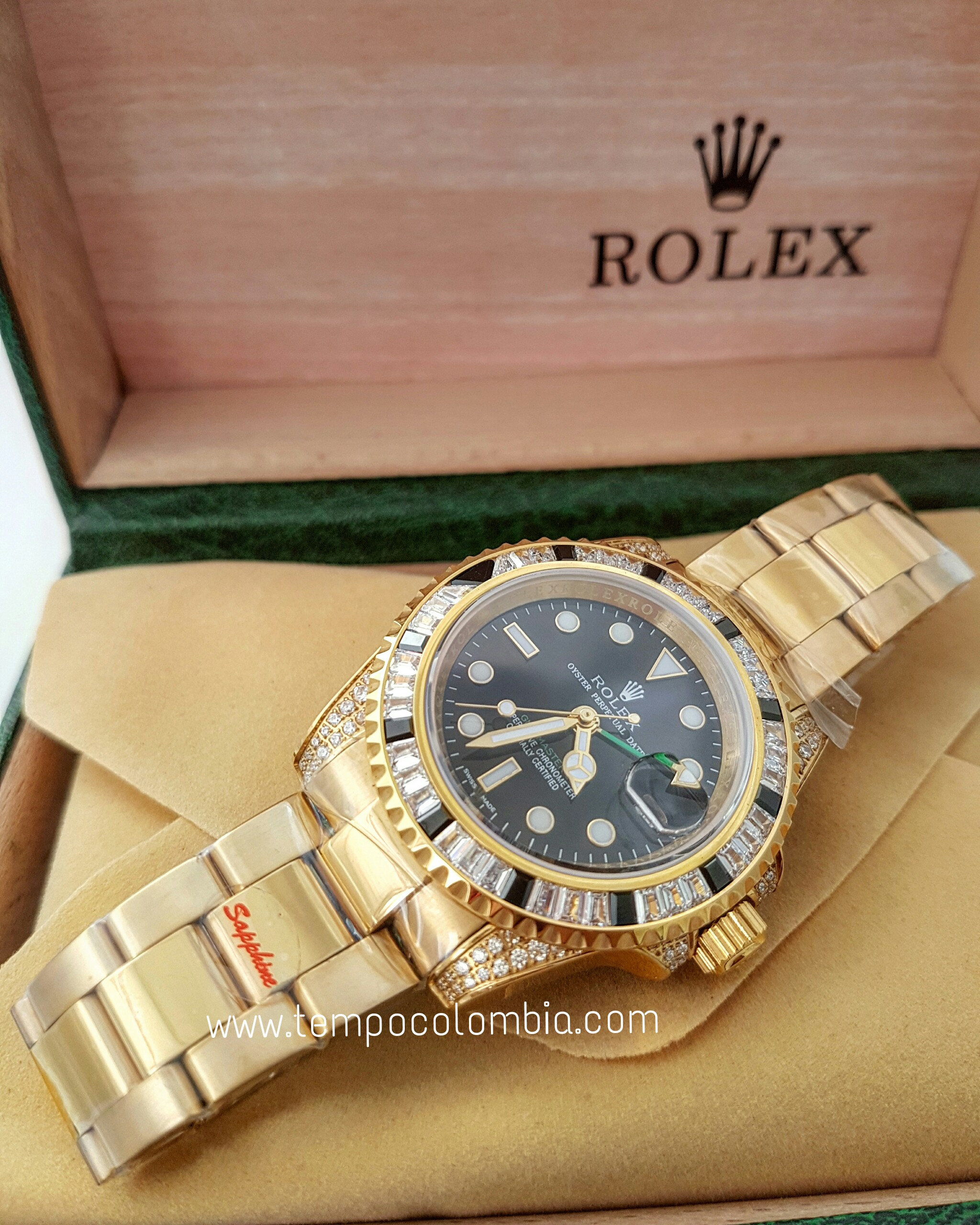 ROLEX GMT ll DIAMONT