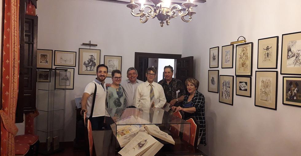 Visita a la Casa de la Torre de El Toboso