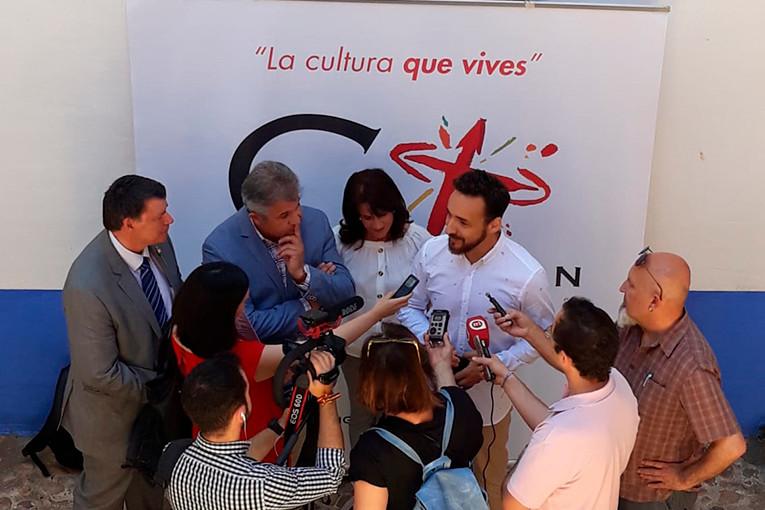 Prensa en Miguel Esteban