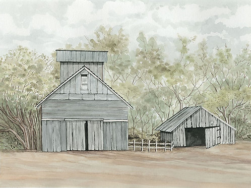 Barn and Grainery