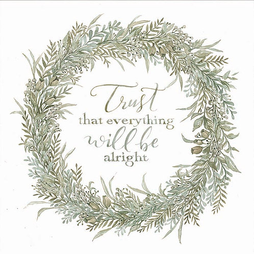 Sage Wreath-Trust that everything will be alright