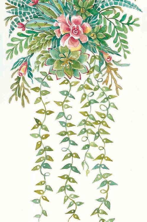 """""""Succulent Spray: Roses"""""""