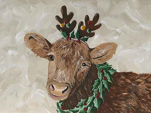 """""""Mama Christmas Cow"""""""