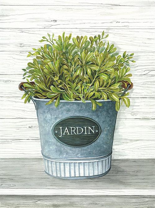 Galvanized Jardin