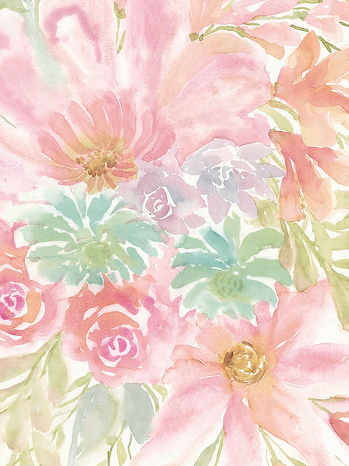 """""""MIXED FLORAL BLOOMS III"""""""