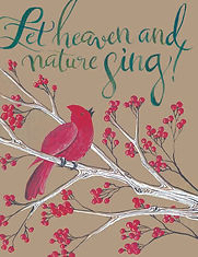 Cardinal tree-Let heaven and nature sing