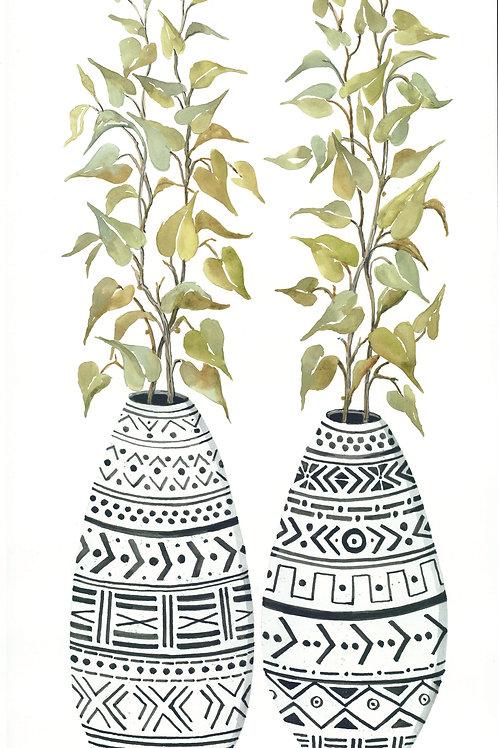 Aztec Vase II