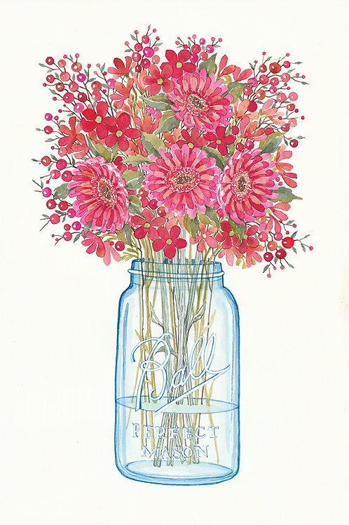 Perfect Mason-Winter Bouquet