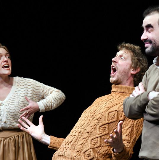 Coralie Russier, Vincent Joncquez, David Houri.