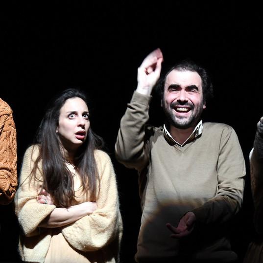 Vincent Joncquez, Eléonore Joncquez, David Houri, Coralie Russier.