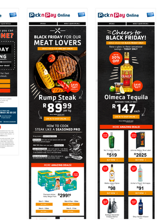 Black Friday Mailers