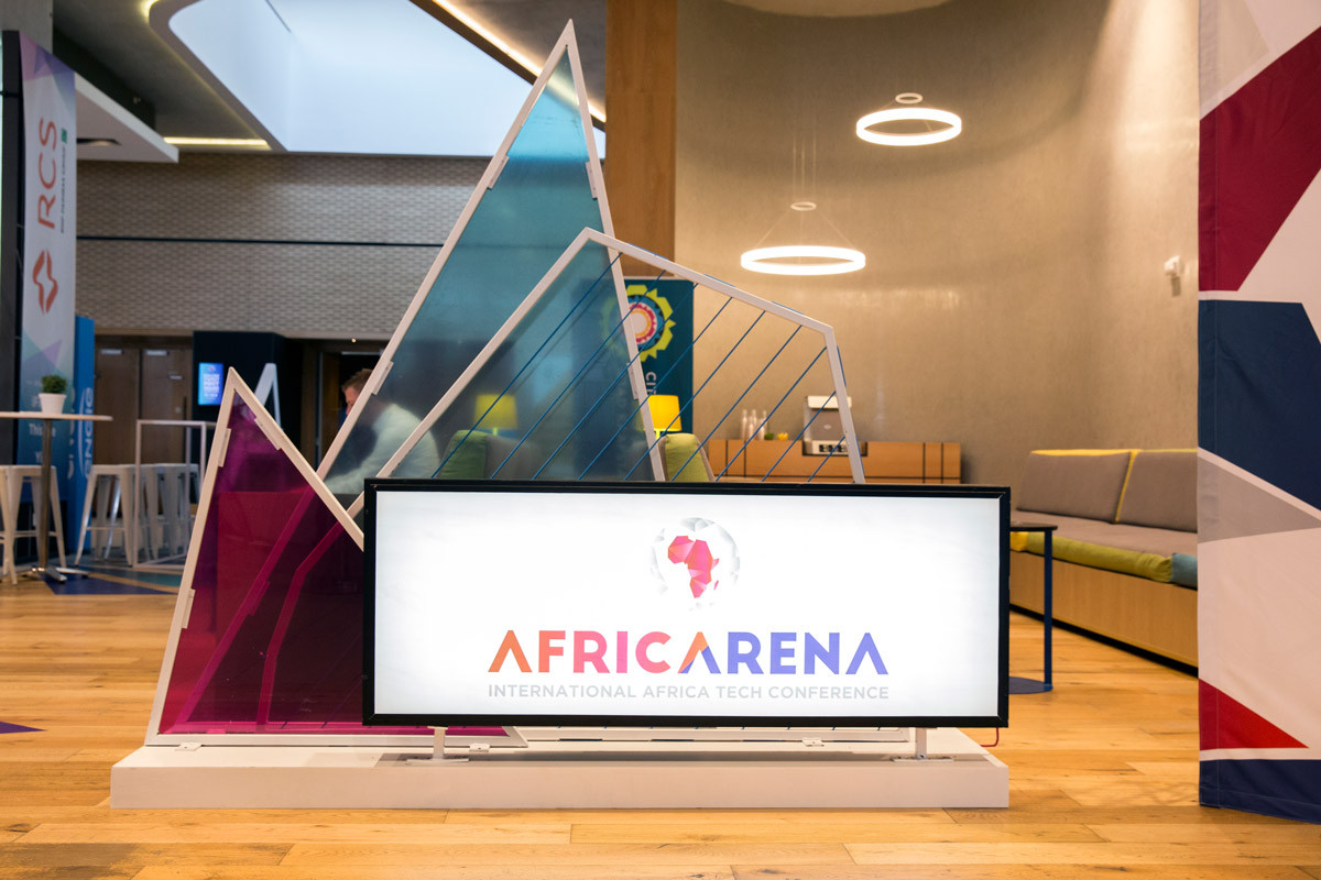 AfricArena Custom Lightbox Branding