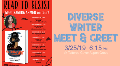 Diverse Writer Meet & Greet with Samira Ahmed