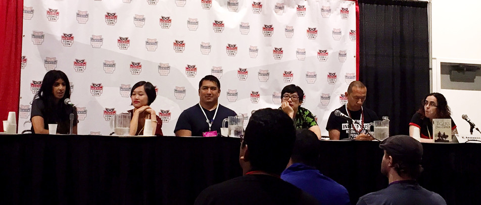 Talking diverse books @ Denver Comic Con