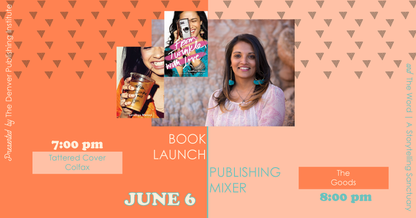 Publishing Industry Mixer & Book Launch!
