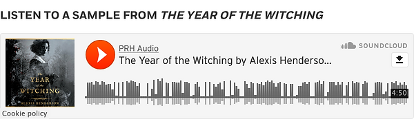 Listen to an Audio Sample of The Year of The Witching