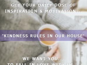 We Welcome You To Our Virtual Home... Where Kindness Rules!