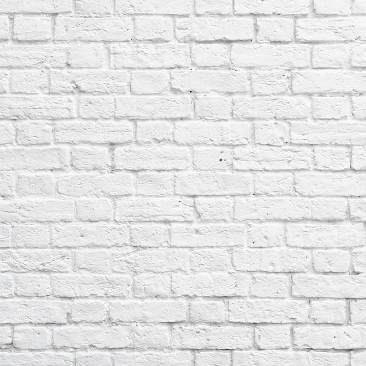 White brick wall texture or background.j
