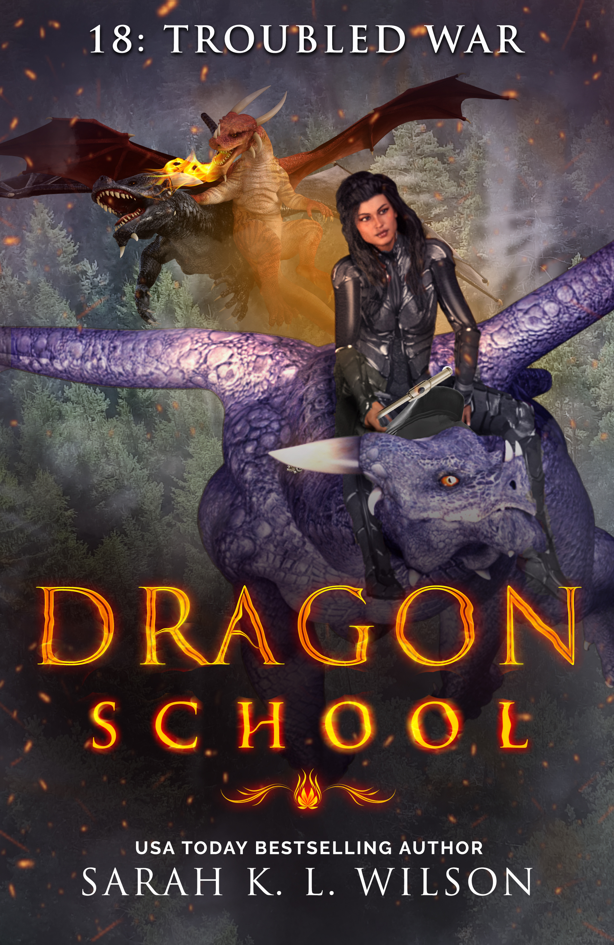 Dragon School: Troubled War