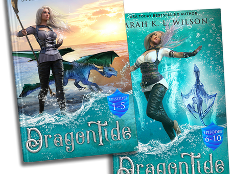 Dragon Tide Omnibuses are HERE!