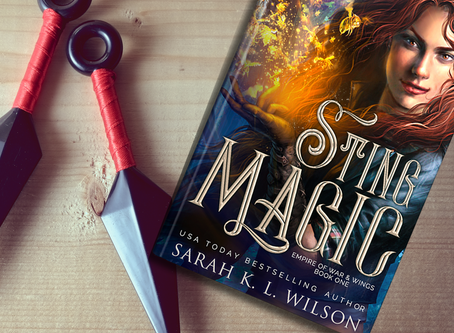 It's here! STING MAGIC launches today!