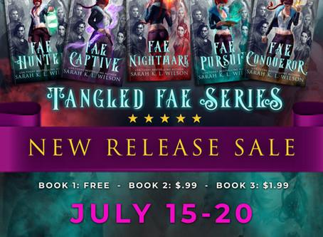 Fae Hunter is free July 15-20!