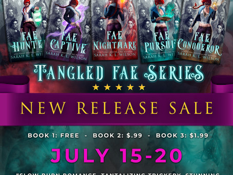 Fae Hunter is free July 15-20!