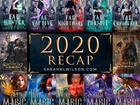 2020 Book Recap!