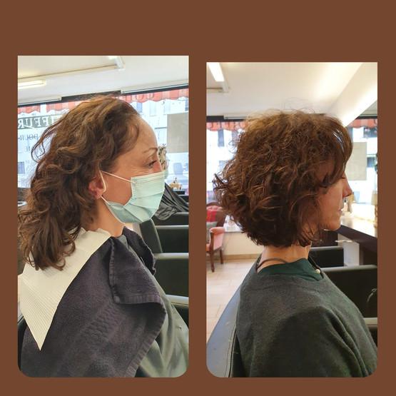 Transformation, coiffure Sion